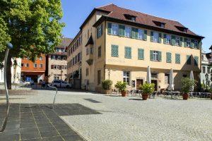Das Gelbe Haus in Esslingen am Neckar von außen
