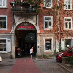 Außenansicht des Kommunalen Kinos Esslingen
