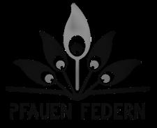 Logo der Pfauenfedern