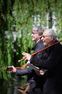 Harald Vogel und Johannes Weigle im Profil