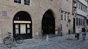 Die Stadtbücherei Esslingen von außen