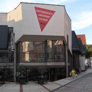 Schauspielhaus der Württembergischen Landesbühne von außen